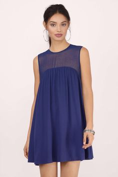 Game Day Dresses: Wonderful Babydoll Dress from Tobi