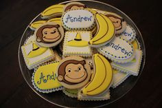 @Caren Leifried love the bananas! Curious George Cookies