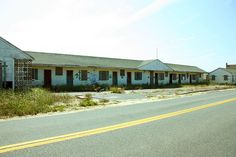 Amazing that this is abandoned. It is on Cape Cod in Mass, where the property is very pricey and all motels / cottages are usually full. It has been sitting there a long time.  What is your history?