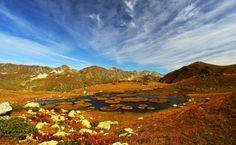 Озера перевала Чхы