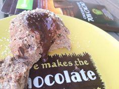 1 REFLEJO EN EL ESPEJO + #VIVESANO +: Coulant de chocolate