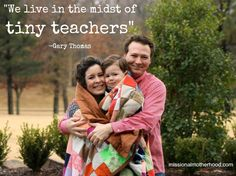 """""""My Tiny Teacher"""" by Jennie McKay (missionalmotherhood.com)   """"Like so many new moms, I went into parenting thinking that, simply speaking, I would be the teacher…I was unprepared for the number of times I would become the learner as the Spirit of God used my son to be my 'tiny teacher.'"""""""