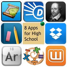 This website offers a summary of each app and explains how it is beneficial to high school education. Homeschool High School, School Classroom, Homeschooling, Teaching Technology, Educational Technology, Teaching Tools, Mobiles, Planners, High School English