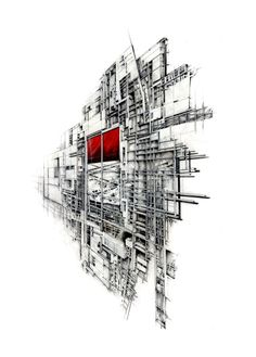 Drawing and sketch on pinterest architectural drawings for Online architecture drawing