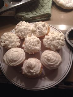 Made cupcakes from scratch