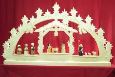 Candle Arch Nativity Scene