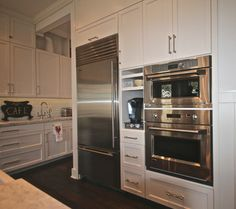 Stainless Steel   White Cabinets  The White House   Sammamish