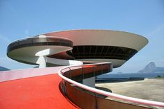Niteroi Contemporary Art Museum  #architecture #oscarniemeyer Pinned by www.modlar.com