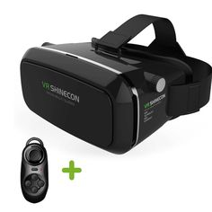 VR Glasses with Bluetooth Remote Controller, VR Headset Virtual Reality Box with Adjustable Lens and Strap for iPhone 5 6 plus Samsung Edge Note 4 and inch Smartphone Iphone Android, Iphone 5, Android Smartphone, Android Phones, Smartphone Price, Virtual Reality Goggles, Virtual Reality Headset, Augmented Reality, Vestidos