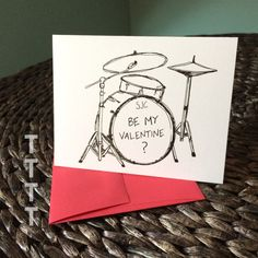 Twenty One Pilots Valentine ... Josh Dun's drums from the Stressed Out music video. Perfect for the TOP fan in your life or your drummer friend.