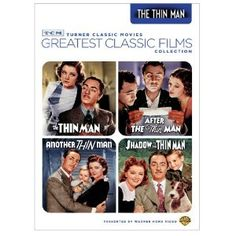 TCM Greatest Classic Films Collection: The Thin Man Vol. 1 (The Thin Man / After the Thin Man / Another Thin Man / Shadow of the Thin Man) I adore all of the Thin Man movies!
