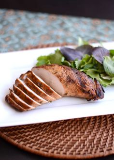 The alternative to grilling chicken on a hot summer evening - this Grilled Marinated Turkey Tenderloin recipe. Bonus, makes amazing lunch meat as leftovers. Turkey Tenderloin Recipes, Turkey Recipes, Veggie Recipes, Baby Food Recipes, New Recipes, Chicken Recipes, Turkey Dishes, Veggie Food, Favorite Recipes
