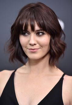 Loving Mary Elizabeth Winstead's hair...this is what I'm going for now!