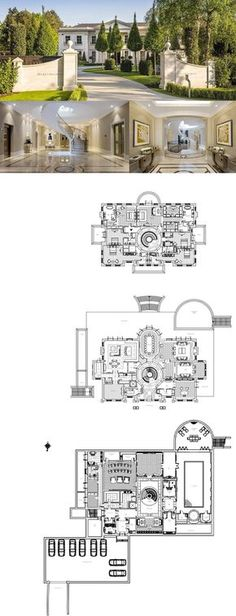 £27 Million Newly Built Mansion In Surrey, England (FLOOR PLANS) | Homes of the Rich
