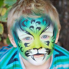 Jenny Saunders Green Tiger