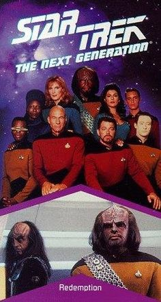 """Star Trek: The Next Generation (TV Series) ~ """"Set decades after Captain James T. Kirk's 5-year mission, a new generation of Starfleet officers in a new Enterprise set off on their own mission to go where no one has gone before."""""""