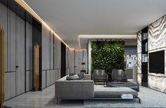 iluminación interior ideas de luces LED en el techo