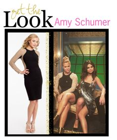 """Get The Look: Amy Schumer!"" by camillelavie ❤ liked on Polyvore featuring women's clothing, women, female, woman, misses and juniors"