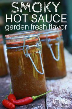 Jalapeno Pepper Sauce Recipe, Hot Pepper Sauce, Jalapeno Recipes, Pepper Recipes, Hot Sauce Recipes, Gourmet Recipes, Healthy Recipes, Canning Recipes, Vegetarian Recipes
