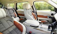 '14 Range Rover Sport interior. Great interior colors...