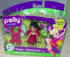 Polly Pocket Cutant *Crissy & Bunnyroot* Doll by Mattel. $4.99. Polly Pocket Cutant *Crissy & Bunnyroot* Doll. For ages 4 years old and up.. Polly Pocket Cutant *Crissy & Bunnyroot* Doll