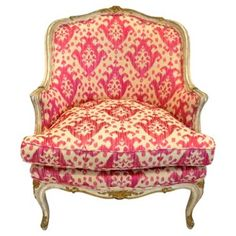 Check out this item at One Kings Lane! French Louis XV-Style Bergère