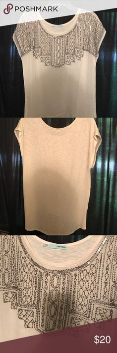 NWOT gorgeous beaded top! Gorgeous beaded Maurice's top! NWOT! Excellent condition! Maurices Tops Blouses