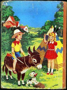 Jack & Jill Annual Book 1960 - Rear cover - copyright The Amalgamated Press…