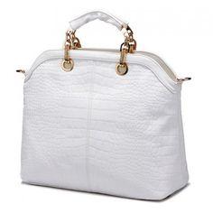 bolsa de couro branca 4