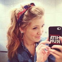 Instagram Insta-Glam: Hair Scarves | Beauty High