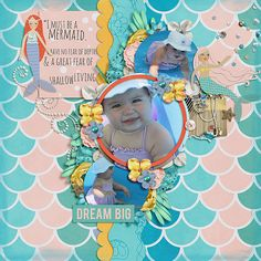 Mermaid+Dreams - Scrapbook.com