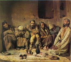 Eaters of opium, 1868 Vasily Vereshchagin - by style - Realism Russian Painting, Russian Art, Prayers For Addiction, Addiction Quotes, Arabian Art, Art Database, Realism Art, You Draw, Great Artists