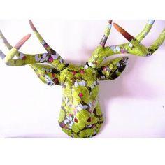 decoupage deerhead