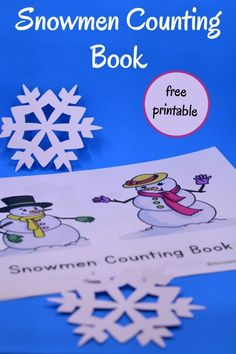 A free printable book for new readers to practice number word recognition and counting skills.