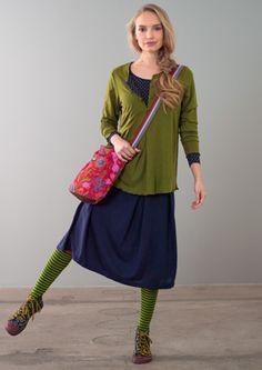 Jupe en lyocell–Jupes & robes–GUDRUN SJÖDÉN – Kläder Online & Postorder