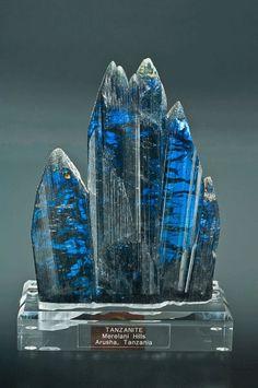 Tanzanite my favorite stone unfortunately its worth a fortune.