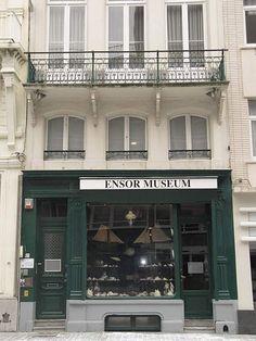 James Ensor House, Ostend, Belgium