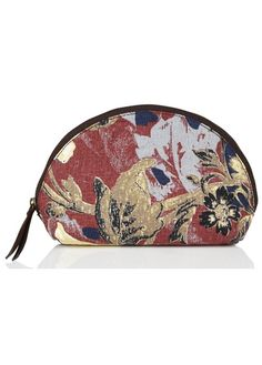Trousse en jacquard multicolore Rouge by ACOTE 69.00