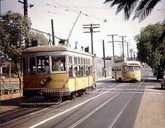 Los Angeles-trolley