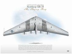 "XB-35 ""Flying Wing"""
