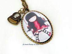 Collar camafeo Muñeca Gorjuss REF.103 de La Tienda Vintage de Kima por DaWanda.com