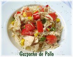 Los Inventos de Lisa: Gazpacho ( Escabeche) de Pollo
