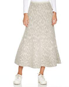 Theory Marvita Vela Midi Skirt