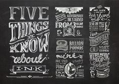 Mixed typography & lettering inspiration | From up North