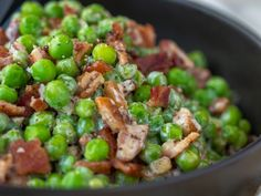 Bacon Pea Pecan Salad Horizontal 7