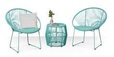Outdoor Living: colourful garden furniture