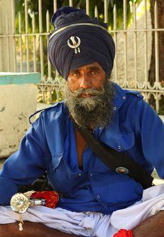 Sikh Guard - Amritsar, India