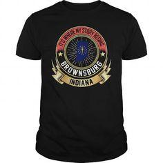 Cool #TeeForBrownsburg Brownsburg - Indiana - Brownsburg Awesome Shirt - (*_*)