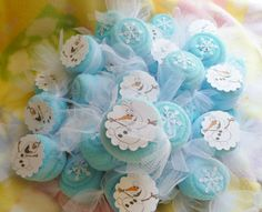 Frozen Theme... Washcloth Candies Bundle of 10 by mollbelldesigns, $14.40
