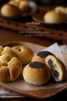 日本から送ってもらった美味しい漉し餡であんぱんを作りました♪全部使うともったいないので、9個中6個は芋餡です。(笑)ラムレーズン入りのスイートポテトパン。...